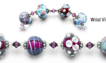 Designer Bead Medical Bracelets Fascination 0868