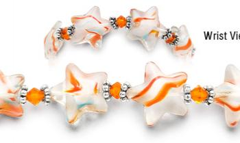 Designer Bead Medical Bracelets Wish Upon a Star 0880