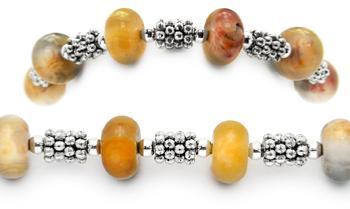 Designer Bead Medical Bracelets Wooded Expedition 0894
