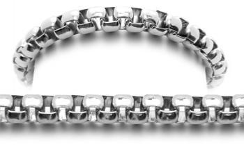 Designer Stainless Medical ID Bracelets Verzino 0930