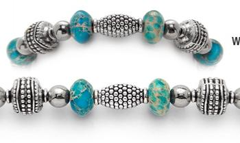 Designer Beaded Medical Bracelets Waters of Avernus 0948