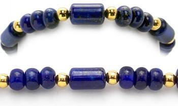 Designer Bead Medical Bracelets Lady Lapis Lazuli 0966