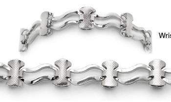 Medical ID WaterWear Bracelets® 1054 Verona by Artist and Cancer Survivor Abbe Sennett