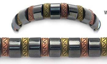 Designer Bead Medical Bracelets Triple Delights 1055