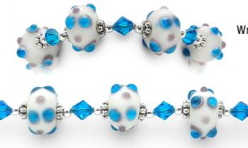 Designer Bead Medical Bracelets Galaxidi 1074