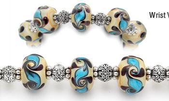 Designer Bead Medical Bracelets Goddess of Love 1081