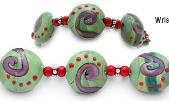 Designer Bead Medical Bracelets Growth and Renewal 1082