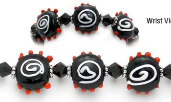 Designer Bead Medical Bracelets Wowzee 2-zee 0119
