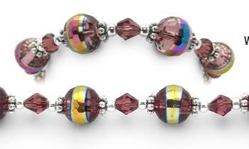 Designer Bead Medical Bracelets Prufrock's Charm 1131
