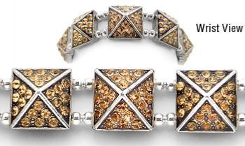 Designer Bead Medical Bracelets Celestial Pyramids 3 1185