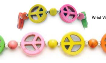Designer Bead Medical Bracelets Peaceful World III 1205