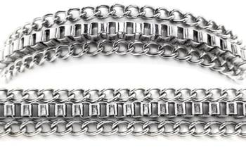Designer Stainless Medical Bracelets Ispirazione 1234