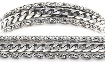 Designer Stainless Medical Bracelets Massimo 1239