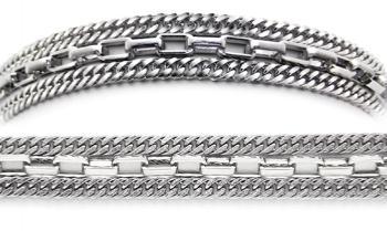 Designer Stainless Medical Bracelets Ricchezza 1266