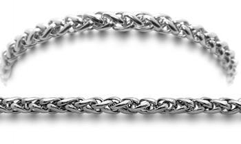 Designer Stainless Medical Bracelets Coda di Cavallino 1307