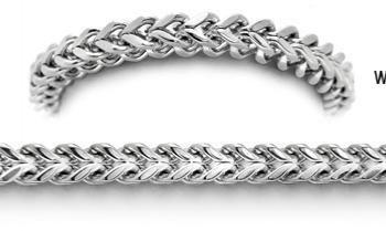 Designer Stainless Medical Bracelets Mistero Quadrato 1312