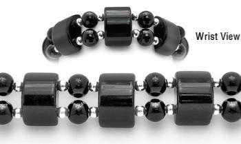 Designer Bead Medical Bracelets Tuxedo Cat 1411