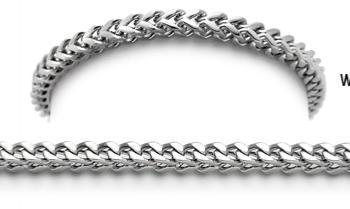 Designer Stainless Medical Bracelets Quadrato 1498