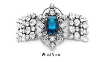 Designer Rhinestone Medical Bracelets Palace Gates 1567