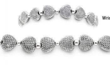 Designer Bead Medical Bracelets Hearts 1568