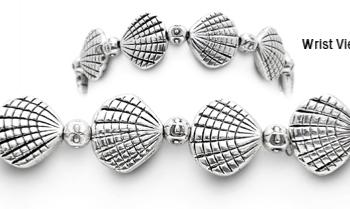 Designer Bead Medical Bracelets Silver by the Seashore 1569