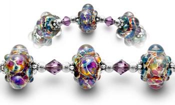 Designer Medical ID Bracelets Galactic Journey 1618