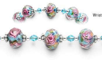 Designer Bead Medical Bracelets Victorian Perspective 1620