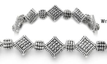 Designer Bead Medical Bracelets Metallic Madness 1641