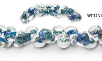 Designer Bead Medical Bracelets Speckled Hatchling 1689