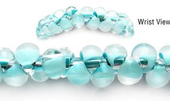 Designer Bead Medical Bracelets Dew Drops 1702
