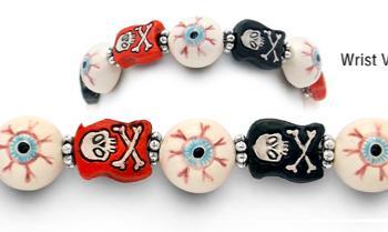 Designer Bead Medical ID Bracelet Eye-Eye 1708