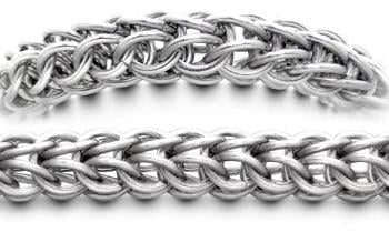 Designer Stainless Medical Bracelets Forte Anelli di Acciaio 1743