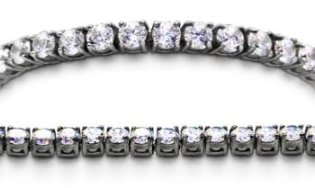 Designer Stainless Medical Tennis Bracelet Diamanti di Sophia 1746