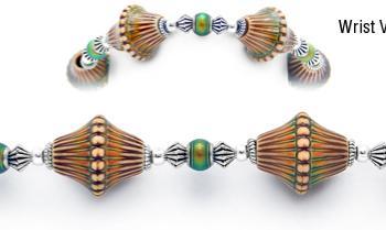 Designer Bead Medical Bracelets Bell Bottom MoodBling 1755