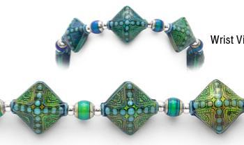 Designer Bead Medical Bracelets Good Vibrations MoodBling 1770