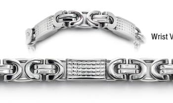 Designer Stainless Medical ID Bracelets Piccolo Suzzara 1778