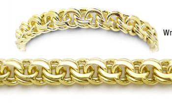 Designer Gold Medical Bracelets Mia Amore 1 Oro 1790