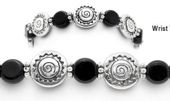 Designer Bead Medical ID Bracelets Navajo Night 1797