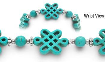 Designer Bead Medical Bracelets Knot Undone 1822