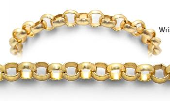Designer Gold Medical Bracelets Golden Symphonies 1833