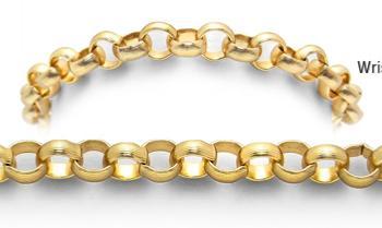 Designer Gold Medical Bracelets Golden Symphonies 1833
