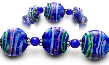 Designer Bead Medical Bracelets Positano 1860
