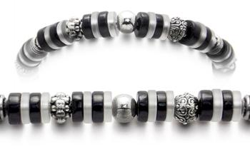 Designer Bead Medical Bracelets Night and Day Dreams 1880