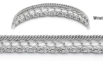 Designer Stainless Medical Bracelets Importanza 1897
