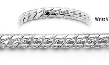 Designer Silver Medical Bracelets Prizzi 1898