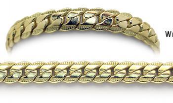 Designer Gold Medical Bracelets Prizzi Oro 1899