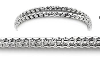 Designer Silver Medical Bracelets Winter Tracks 1925