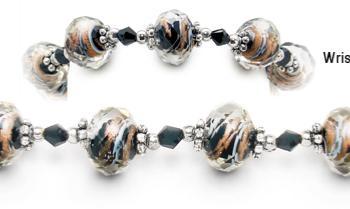 Designer Bead Medical Bracelets Sizzle I 1930