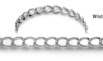 Designer Stainless Medical Bracelets Donna Superiore 1962