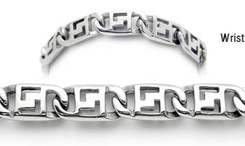 Designer Stainless Medical Bracelets Cantante di Rock'N Roll 1909